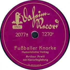 Fußballer Knorke