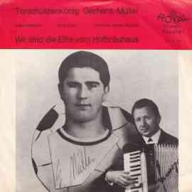 Torschützenkönig Gerhard Müller