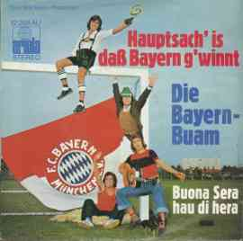 Hauptsach' is daß Bayern g'winnt