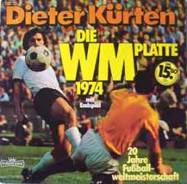 Die WM Platte 1974