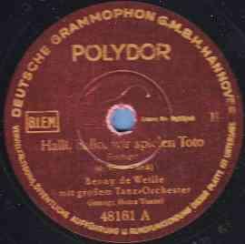 Halli-Hallo wir spielen Toto
