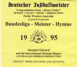 Bundesliga-Meister-Hymne