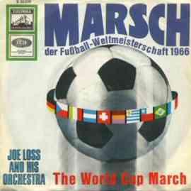 Marsch der Fußball - Weltmeisterschaft 1966