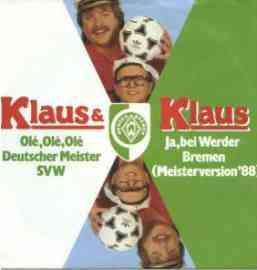 Olé Olé Olé Deutscher Meister SVW