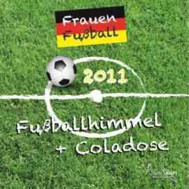 Fußballhimmel + Coladose