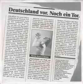 Deutschland vor. Noch ein Tor.