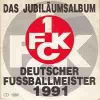 Das Jubiläumsalbum Deutscher Meister 1991