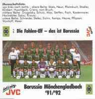 Die Fohlen Elf, das ist Borussia