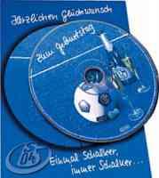 Geburtstagskarte mit CD