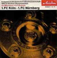 Endspiel um die Deutsche Fußballmeisterschaft 1962