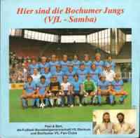 Hier sind die Bochumer Jungs (VFL Samba)